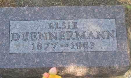 DUENNERMANN, ELSIE - Fall River County, South Dakota | ELSIE DUENNERMANN - South Dakota Gravestone Photos