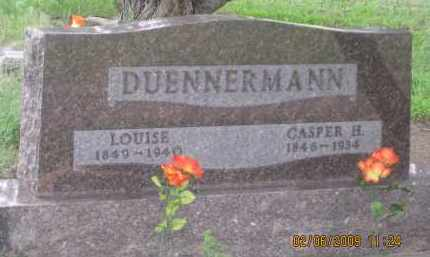 DUENNERMANN, LOUISE - Fall River County, South Dakota | LOUISE DUENNERMANN - South Dakota Gravestone Photos