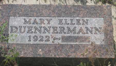 DUENNERMANN, MARY ELLEN - Fall River County, South Dakota | MARY ELLEN DUENNERMANN - South Dakota Gravestone Photos