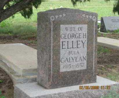 ELLEY, BULA  GALYEAN - Fall River County, South Dakota | BULA  GALYEAN ELLEY - South Dakota Gravestone Photos