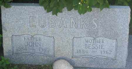 EUBANKS, JOHN - Fall River County, South Dakota | JOHN EUBANKS - South Dakota Gravestone Photos