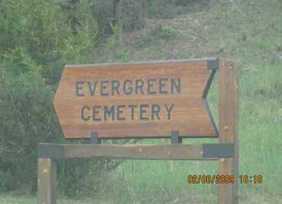 *EVERGREEN CEMETERY, SIGN TO - Fall River County, South Dakota | SIGN TO *EVERGREEN CEMETERY - South Dakota Gravestone Photos