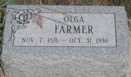 FARMER, OLGA - Fall River County, South Dakota   OLGA FARMER - South Dakota Gravestone Photos