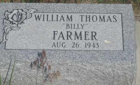 "FARMER, WILLIAM THOMAS   ""BILLY"" - Fall River County, South Dakota | WILLIAM THOMAS   ""BILLY"" FARMER - South Dakota Gravestone Photos"