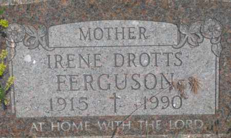 FERGUSON, IRENE - Fall River County, South Dakota | IRENE FERGUSON - South Dakota Gravestone Photos