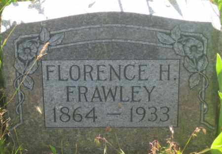 FRAWLEY, FLORENCE  H. - Fall River County, South Dakota   FLORENCE  H. FRAWLEY - South Dakota Gravestone Photos