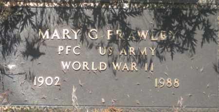 FRAWLEY, MARY G. - Fall River County, South Dakota | MARY G. FRAWLEY - South Dakota Gravestone Photos