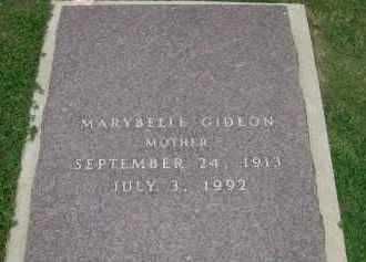 GIDEON, MARYBELLE - Fall River County, South Dakota | MARYBELLE GIDEON - South Dakota Gravestone Photos