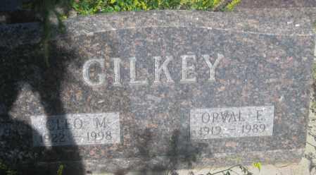 GILKEY, ORVAL  E. - Fall River County, South Dakota | ORVAL  E. GILKEY - South Dakota Gravestone Photos