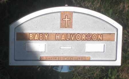 HALVORSON, BABY - Fall River County, South Dakota   BABY HALVORSON - South Dakota Gravestone Photos