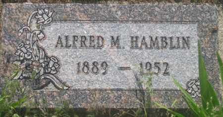 HAMBLIN, ALFRED  M. - Fall River County, South Dakota   ALFRED  M. HAMBLIN - South Dakota Gravestone Photos