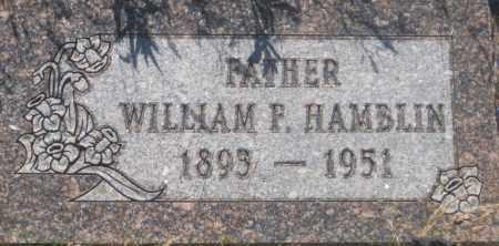 HAMBLIN, WILLIAM  F. - Fall River County, South Dakota | WILLIAM  F. HAMBLIN - South Dakota Gravestone Photos