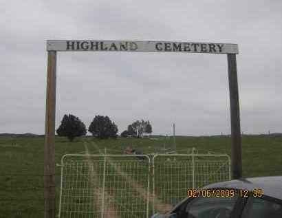 *HIGHLAND CEMETERY, FRONT GATE - Fall River County, South Dakota | FRONT GATE *HIGHLAND CEMETERY - South Dakota Gravestone Photos