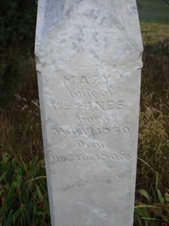 HINES, MARY - Fall River County, South Dakota | MARY HINES - South Dakota Gravestone Photos