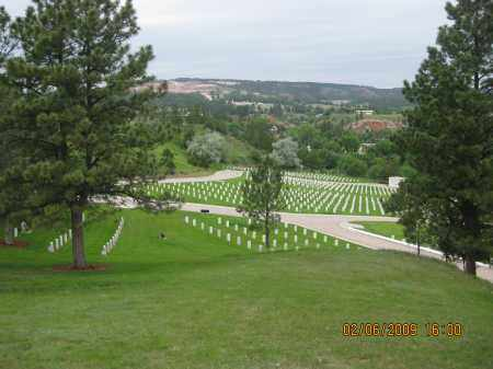 *HOT SPRINGS NATIONAL, VIEW FROM MONUMENT - Fall River County, South Dakota | VIEW FROM MONUMENT *HOT SPRINGS NATIONAL - South Dakota Gravestone Photos