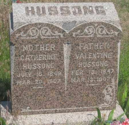 HUSSONG, VALENTINE - Fall River County, South Dakota | VALENTINE HUSSONG - South Dakota Gravestone Photos