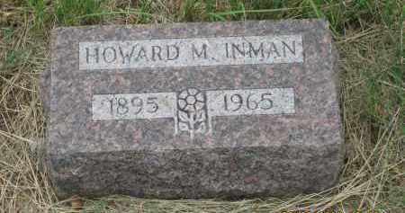 INMAN, HOWARD M. - Fall River County, South Dakota | HOWARD M. INMAN - South Dakota Gravestone Photos