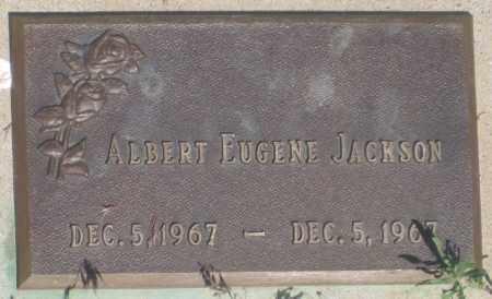 JACKSON, ALBERT  EUGENE - Fall River County, South Dakota | ALBERT  EUGENE JACKSON - South Dakota Gravestone Photos