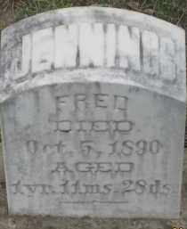 JENNINGS, FRED - Fall River County, South Dakota | FRED JENNINGS - South Dakota Gravestone Photos