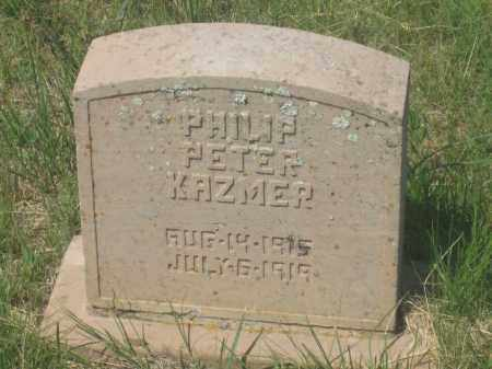 KAZMER, PHILIP PETER - Fall River County, South Dakota | PHILIP PETER KAZMER - South Dakota Gravestone Photos
