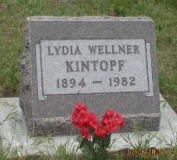 WELLNER KINTOPF, LYDIA - Fall River County, South Dakota | LYDIA WELLNER KINTOPF - South Dakota Gravestone Photos