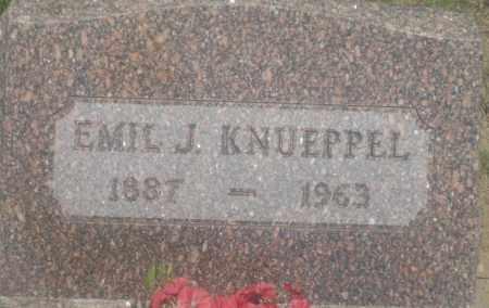 KNUEPPEL, EMIL  J. - Fall River County, South Dakota | EMIL  J. KNUEPPEL - South Dakota Gravestone Photos