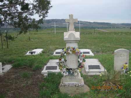 LANDERS, FAMILY PLOT - Fall River County, South Dakota   FAMILY PLOT LANDERS - South Dakota Gravestone Photos