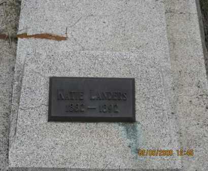 LANDERS, KATIE - Fall River County, South Dakota | KATIE LANDERS - South Dakota Gravestone Photos