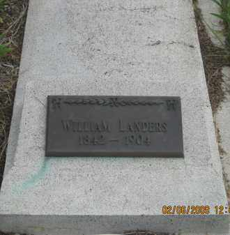 LANDERS, WILLIAM - Fall River County, South Dakota | WILLIAM LANDERS - South Dakota Gravestone Photos