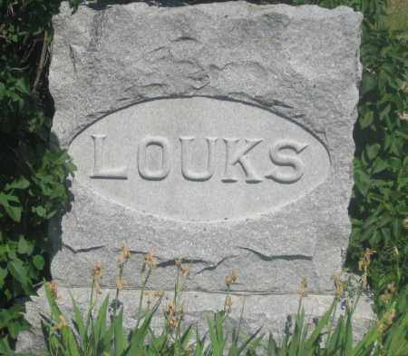 LOUKS, FAMILY STONE - Fall River County, South Dakota | FAMILY STONE LOUKS - South Dakota Gravestone Photos