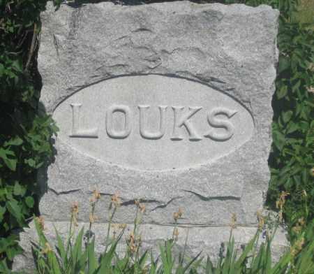 LOUKS, FAMILY STONE - Fall River County, South Dakota | FAMILY STONE LOUKS - South Dakota Gravestone Photos
