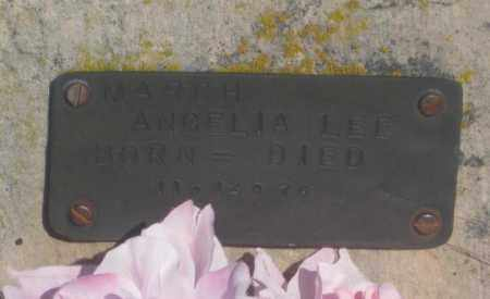 MARCH, ANGELIA LEE - Fall River County, South Dakota | ANGELIA LEE MARCH - South Dakota Gravestone Photos