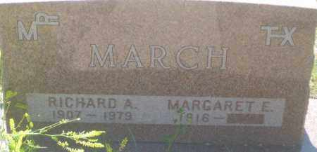 MARCH, MARGARET E. - Fall River County, South Dakota | MARGARET E. MARCH - South Dakota Gravestone Photos