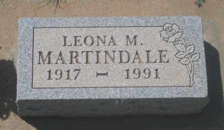 MARTINDALE, LEONA  M. - Fall River County, South Dakota | LEONA  M. MARTINDALE - South Dakota Gravestone Photos