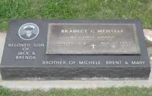 MENTELE, BRADLEY C. - Fall River County, South Dakota | BRADLEY C. MENTELE - South Dakota Gravestone Photos
