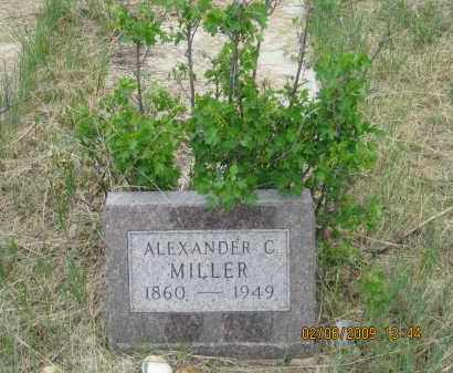 MILLER, ALEXANDER  C. - Fall River County, South Dakota | ALEXANDER  C. MILLER - South Dakota Gravestone Photos