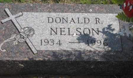 NELSON, DONALD R. - Fall River County, South Dakota | DONALD R. NELSON - South Dakota Gravestone Photos