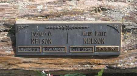 NELSON, DONALD O. - Fall River County, South Dakota | DONALD O. NELSON - South Dakota Gravestone Photos