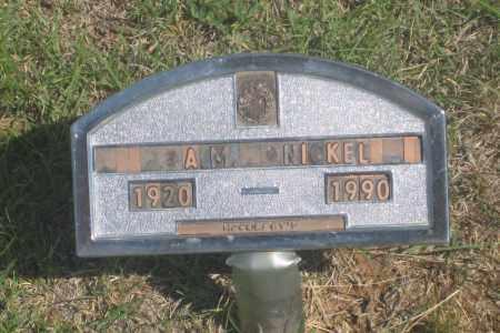 NICKEL, A.  M. - Fall River County, South Dakota | A.  M. NICKEL - South Dakota Gravestone Photos