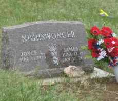 NIGHSWONGER, JAMES - Fall River County, South Dakota | JAMES NIGHSWONGER - South Dakota Gravestone Photos
