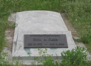 OLSON, EDNA A. - Fall River County, South Dakota | EDNA A. OLSON - South Dakota Gravestone Photos