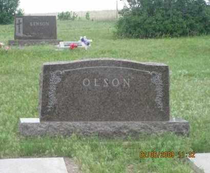 OLSON, FAMILY STONE - Fall River County, South Dakota | FAMILY STONE OLSON - South Dakota Gravestone Photos