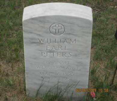 PETERS, WILLIAM EARL - Fall River County, South Dakota | WILLIAM EARL PETERS - South Dakota Gravestone Photos