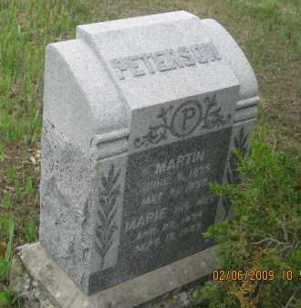 PETERSON, MARIE - Fall River County, South Dakota | MARIE PETERSON - South Dakota Gravestone Photos
