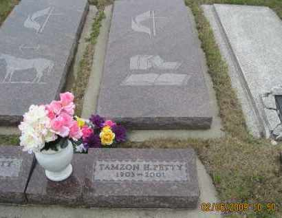 PETTY, TAMZON H. - Fall River County, South Dakota | TAMZON H. PETTY - South Dakota Gravestone Photos