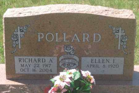 POLLARD, RICHARD A. - Fall River County, South Dakota | RICHARD A. POLLARD - South Dakota Gravestone Photos