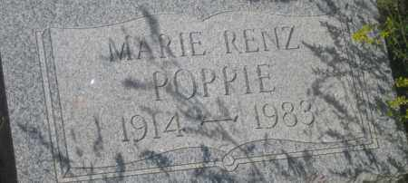 RENZ POPPIE, MARIE - Fall River County, South Dakota | MARIE RENZ POPPIE - South Dakota Gravestone Photos