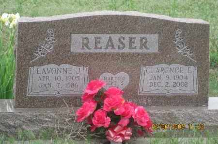 REASER, CLARENCE L. - Fall River County, South Dakota | CLARENCE L. REASER - South Dakota Gravestone Photos