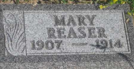 REASER, MARY - Fall River County, South Dakota | MARY REASER - South Dakota Gravestone Photos