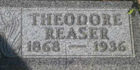 REASER, THEODORE - Fall River County, South Dakota | THEODORE REASER - South Dakota Gravestone Photos